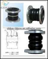 iso certificate/hot sales/ansi/ oil resistant double arch rubber expansion joints