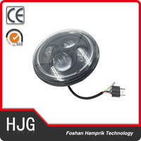 Cheap 75w led light for motorcycle conversion headlight