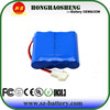 China Factory 4S1P lithium ion battery 14.8v 2600mah for Medical Device