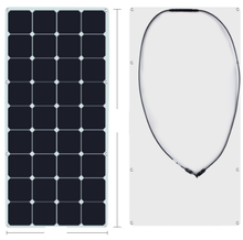China factory high efficiency 50W 110W 150W photovoltaic cells flxeible solar panel