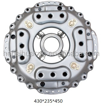 Heavy truck clutch plate/Explosion proof type clutch cover 430mm for Qingqi truck