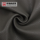 Wear Resistance Litchi Grain Eco-Friendly Water Based Pu Vegan Embossed Leather For Bag Baby Play Mat S004#