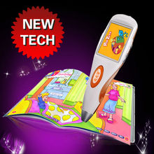 2013 new arrival kids video talking language learning pen
