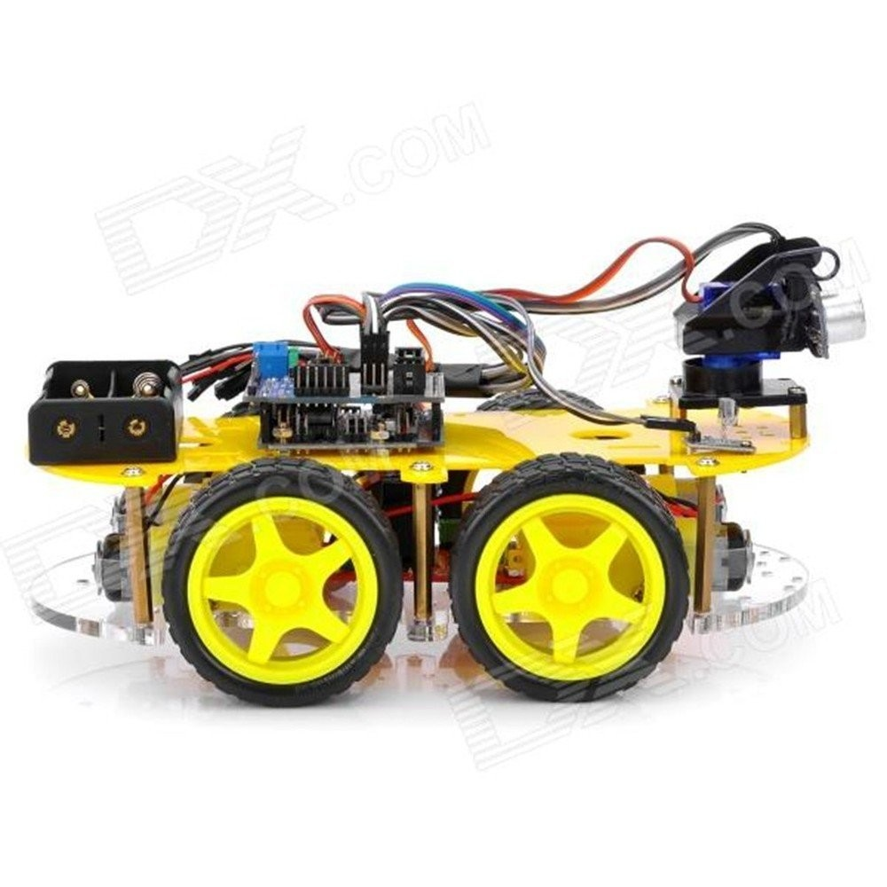 Alibaba china smart robot for arduino car with wd wheel