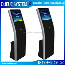 wire or wireless callpad and led display thermal printer with auto cut queuing system from tonsincs
