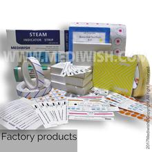 Self-Adhesive Class 4 Chemical Autoclave Indicator Strips For Autoclave