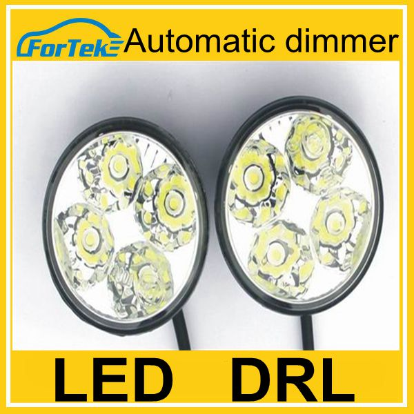 Cheap daytime running light led drl FK-008o1 with automantic dimmer