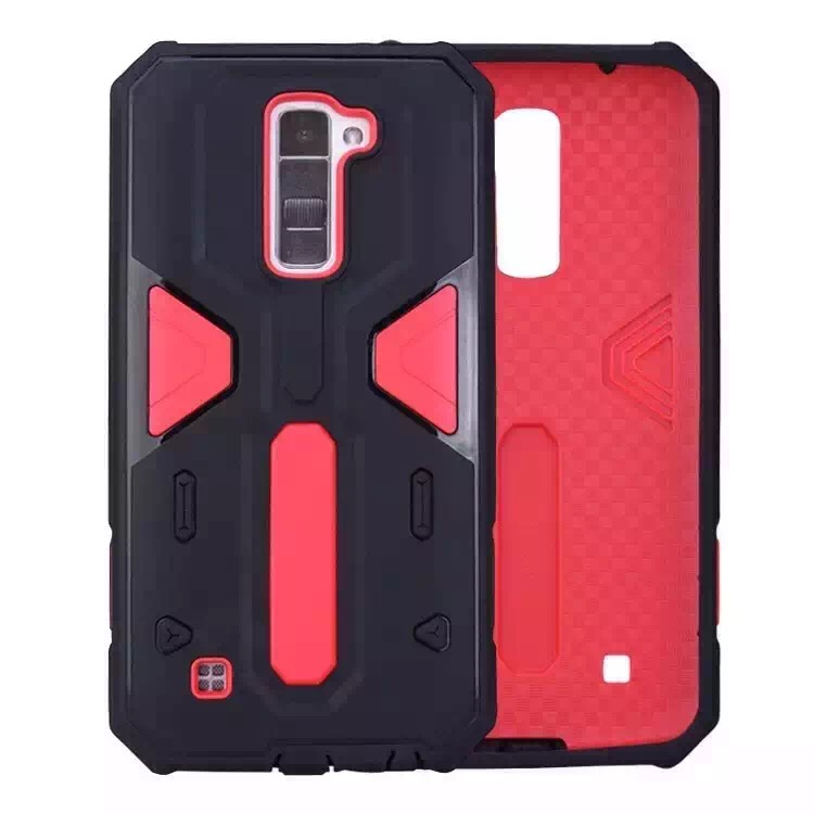 Top selling fashion high quality TPU with PC 2in1 Defender case protector case for LG <strong>K10</strong> case