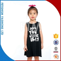 Brand new Fashion new model dresses for girls of 10 years old