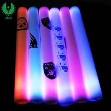 High quality Led Foam Glow Sticks, Foam Led Light-Up Sticks for party