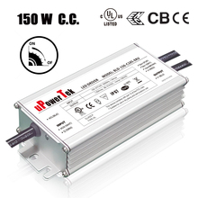 150W 0-10V dimmable ip67 waterproof constant current 10kV surge protection UL ENEC CB CE certified LED driver for street light