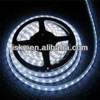 LED Strip light, Waterproof LED Flexible Light Strip 12V with 300 SMD LED, 3258 Cool White. 16.4 Foot / 5 Meter. With 3M Adhesiv