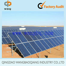 solar energy system galvanized steel ground mounting structure