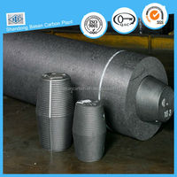 High oxidation resistance high power graphite electrode for welding iron scrap