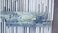 dark green marble Stacked Ledge wall stone