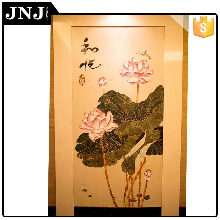 Guangdong Famous Brand Flowers Decorative Wall Mural Artist