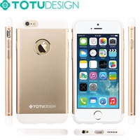TOTU 2015 Fashion Design Full Protective PC+Aluminum for iphone 6 plus case