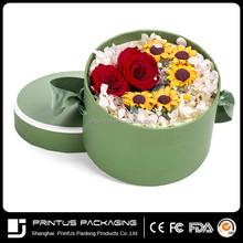 Custom favorable high quality package hat round paper cylinder box