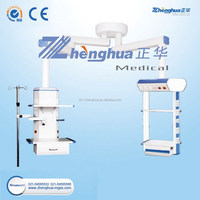 Double Articulated Ceiling Supply Unit With Column