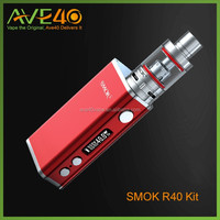 buil-in battery vape mod ecig kit smok r40 nice hot sale cheap wholesale