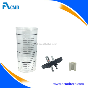 ACMD 2 Liter Bottle Capacity Suction Jar for Vacuum Regulator