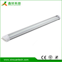 High power 12W 15W 18W 22W ww/cw/nw 2g11 led t8 tube