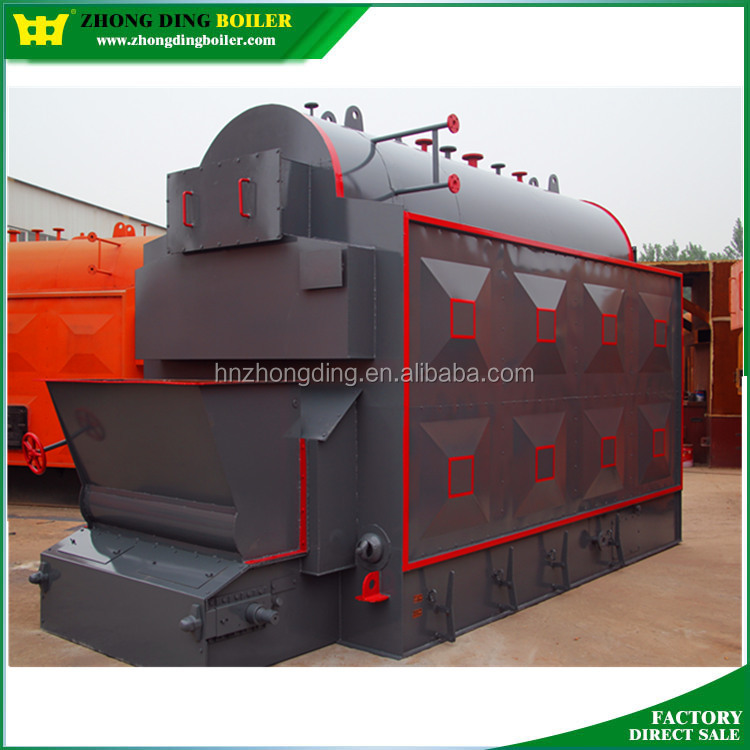 DZL Single Drum 24ton Steam Boilers Coal biomass fired boiler steam engine