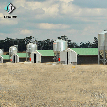 Prefabricated Chicken shed Poultry Farm House Design Philippines