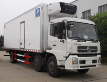2016 Dongfeng thermo king refrigerator and freezer van truck