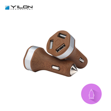 Preferable price car charger 3 usb port