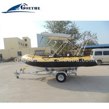 420cm long Goethe CE Certificated Glass Bottom Boats For Sale