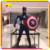 KANO0487 Life Size Toy Captain America Civil War Statue