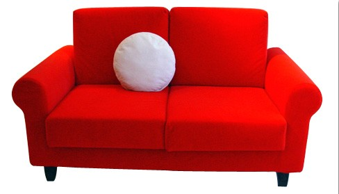 red leather couches for sale SF1093