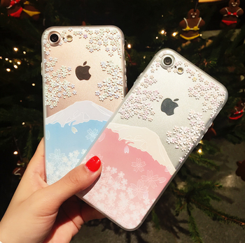 Cherry blossoms series case for Xiaomi 8,3D pattern Couple and goodfriends's gift TPU case for Xiaomi mix 3