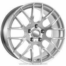 Alloy wheels car alloy wheels 18x8.0 size gunmetal machine face finishing