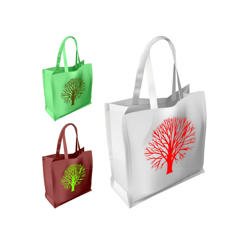 Offer price ecological nonwoven bag shopping bags for supermarket