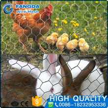 wholesale price Hot dip galvanized chicken rabbit Hexagonal wire mesh