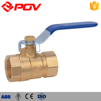 Beverage industry water level control Brass ball valve manually