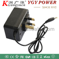 220V input AC to DC adapter 12V300MA Linear Power Supply with UK plug