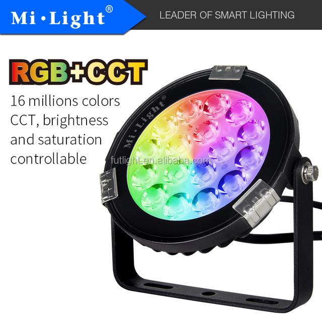 Mi.light Manufacture Futlight New Garden light 9w IP65 wi.fi RGB CCT smart light