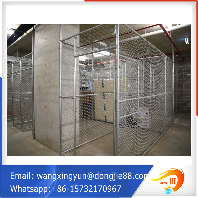 industrial supermarket roll metal storage cage