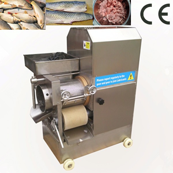 Fish meat separator, mechanically deboned fish meat