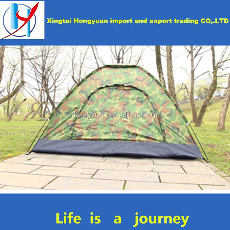 Manufacturer hot sale small size tents double layer glamping 3 season tent