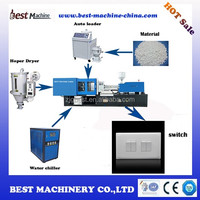 Electric wall switch making machine injection molding machine