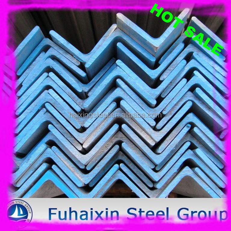 China mill supply Hot Rolled Equal Q235 / SS400 Steel Angle Iron