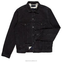 Men's Double Face Indigo Weft Denim Jacket