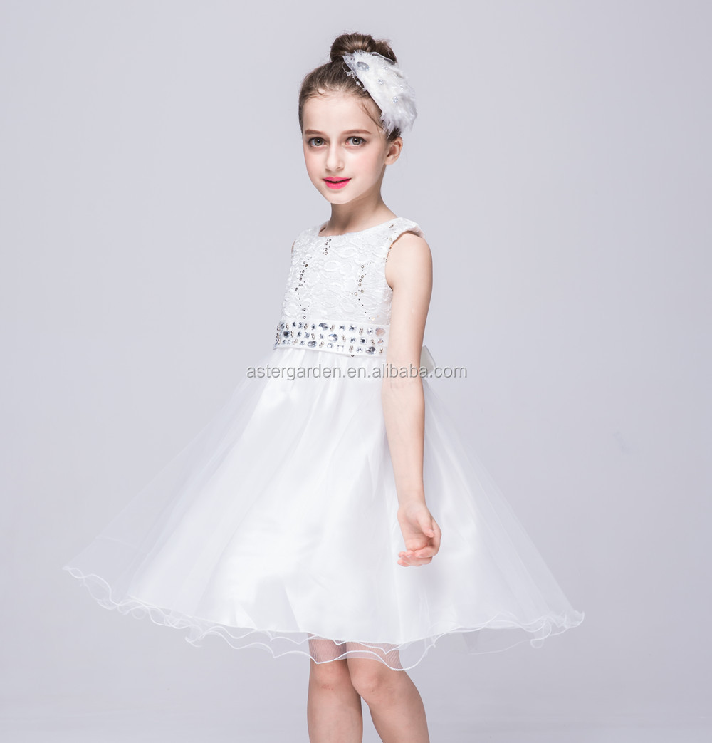 children's garments model princess dress Children's sequins gown dress