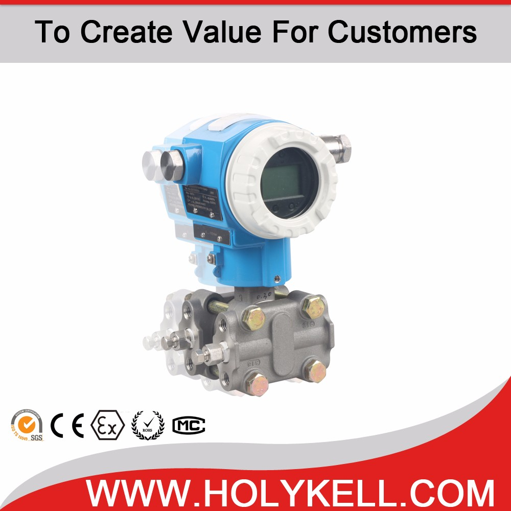 Holykell HK7 Series 4-20mA with hart protocol pneumatic differential pressure transmitter