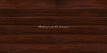 Outdoor strand woven bamboo decking--20mm thickness