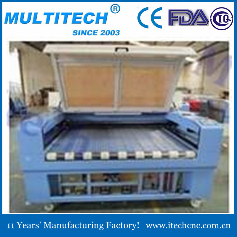 Automatically textile and fabric laser cutting machie eastern